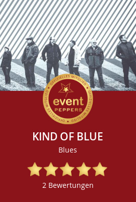 KIND OF BLUE bei Eventpeppers