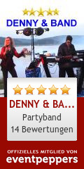 DENNY & BAND, Partyduo mit DJ: Ensemble/Musikgruppe, Partyband