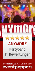 ANYMORE: Band, Partyband