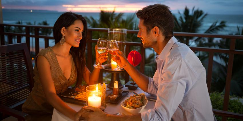 romantisches-Candle-Light-Dinner