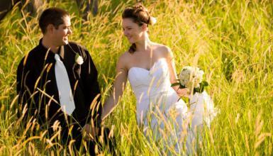Ja-Wort im Grünen: Heiraten auf dem Land