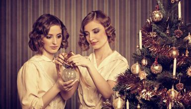 Goldene Weihnachten mit den Roaring Twenties