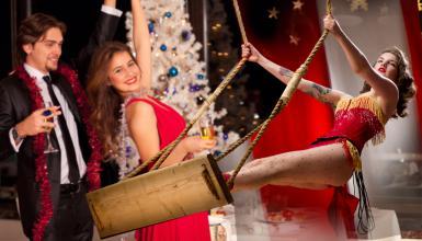 Originelle Showeinlagen für die Weihnachtsfeier
