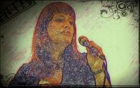 Gefühlvolle Sängerin Anne Live auf der Bühne