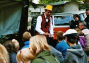 Zauberer Piadino begeistert Kinder und Erwachsene