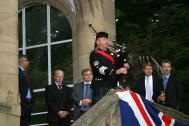 Pipe Major David Johnston