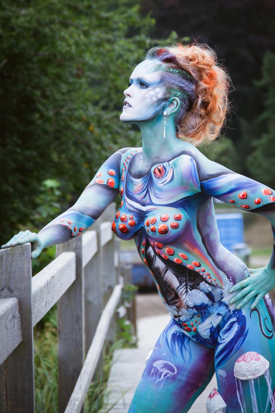 Body Painting Images Female