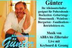 Alleinunterhalter Günter