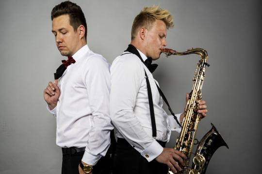 Felix & Ralf | Live-Saxophon und DJ