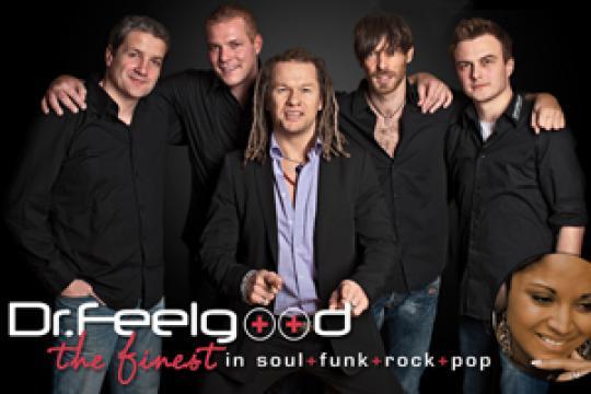 Dr.Feelgood Ihre Liveband & Coverband aus Bayern! Buchbar für Firmenfeier,Hochzeit,Firmenevent,Messe