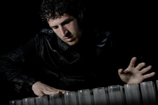 Andrés Bertomeu, Glasharfe (Verrophon)