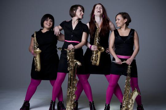 FAMDÜSAX, Saxophonquartett