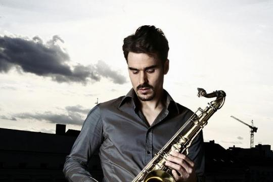 Saxophonist Martin Kern