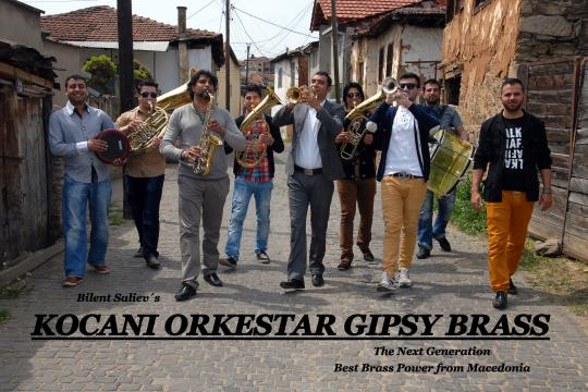 KOCANI ORKESTAR Gipsy Brass
