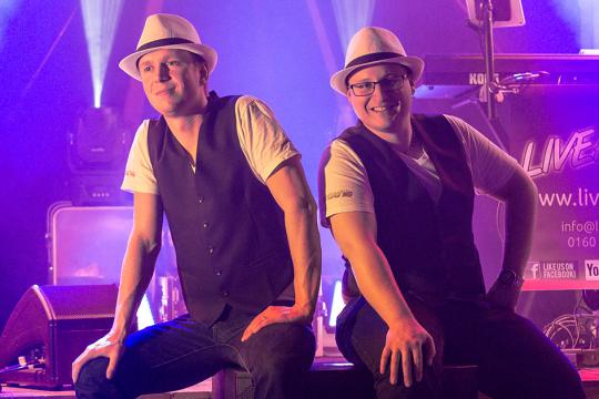 Liveact WG - eure Hochzeits & Partyband