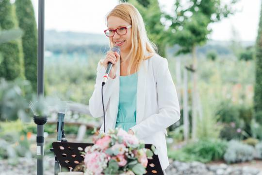 Just your moment - Traurednerin und Hochzeitssängerin Kathi Ly