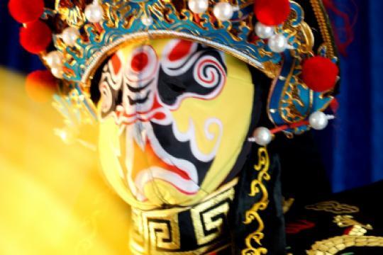 a Bian Lian - Traditional Chinese Mask Change
