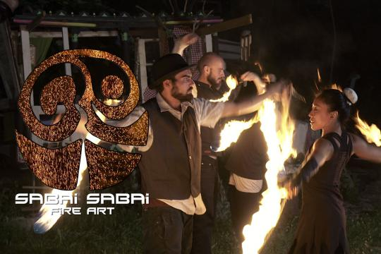 Sabai Sabai Fire Art