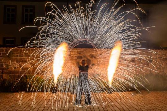 DerFlammenwerfer Detlef Vogt Feuershow Lichtshow