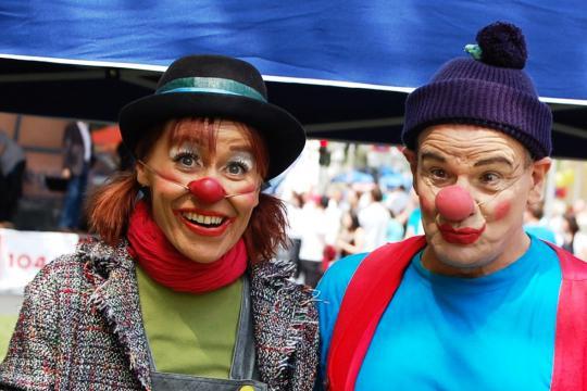 Clown Welten - Spax & Manoli