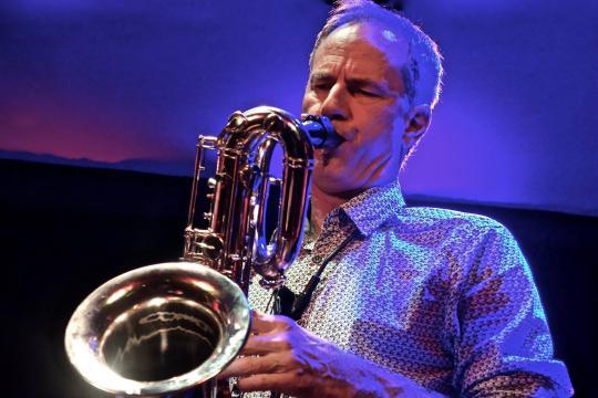 Saxophonist Dirk Knoblauch