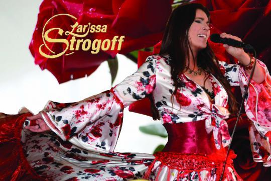 "Alexandra Gypsy ""Zigeunerjunge"" Sängerin Larissa Strogoff"