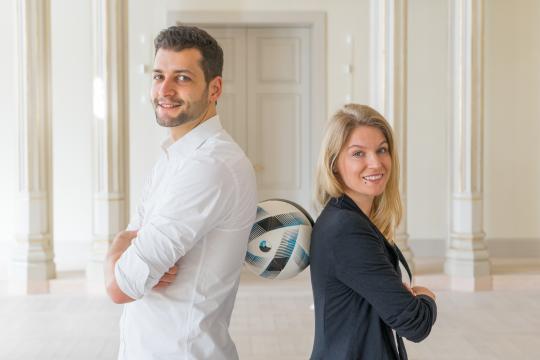 Fußball Freestyle Show der Extraklasse - Aguśka & Patrick