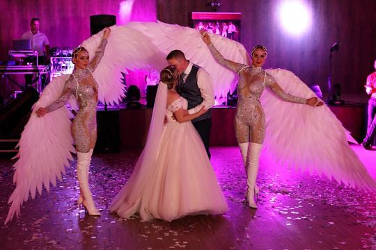 Hochzeitsshow LED Highlight
