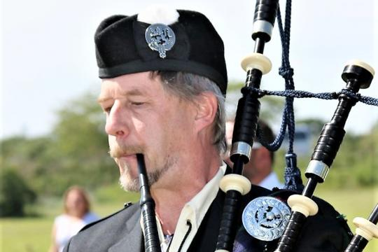 West Highland Piper