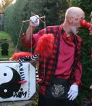 MagierClown Wim+Clownin Locki+der magische Koffer.