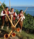 Alphornbläser vom Bodensee